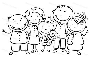 Happy Family of Five