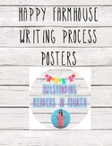 Happy Farmhouse Writing Process Posters