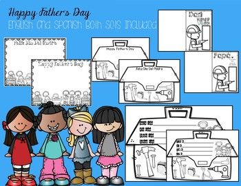 Happy Father's Day -Bilingual