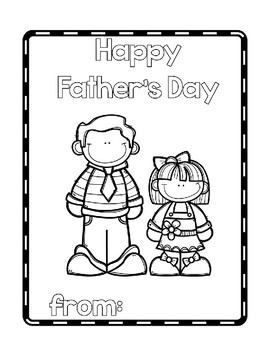 Happy Father's Day Book (or Uncle, Grandpa, or Step Dad)