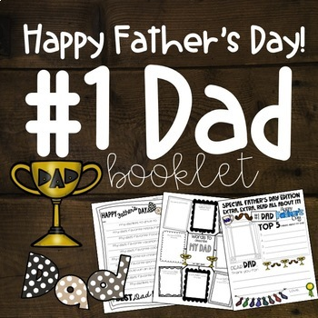 happy fathers day booklet unclegrandpa included