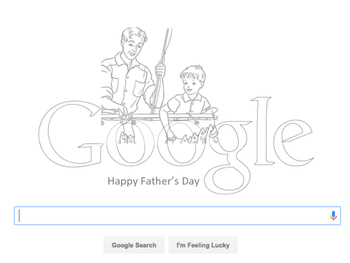 Happy Father's Day ~ Google Search Card