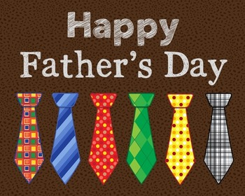 Happy Father's Day Poster, Class Decor, Holiday Sign, Bulletin Board