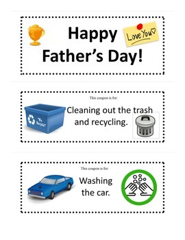 Happy Father's Day Coupons