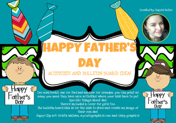 Happy Fathers day! Activities and Bulletin board idea!