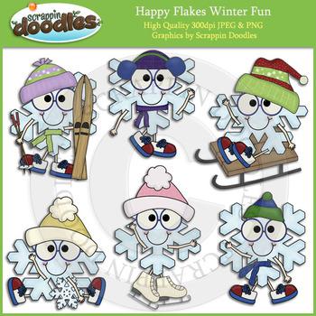 Happy Flakes Winter Fun