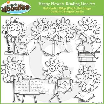 Happy Flowers Reading