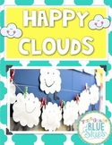 Happy, Fluffy, Stuffed Cloud FREEBIE Craftivity & Printables