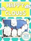 Happy, Fluffy, Stuffed Cloud FREEBIE Craftivity & Printables