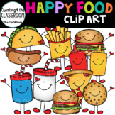 Happy Food Clip Art {Food Clip art}