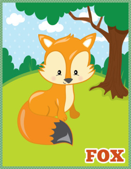 Happy Forest Flash Cards