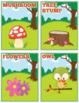 Happy Forest Flash Cards; Kindergarten; Preschool; Homeschool; Bulletin Board