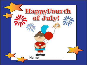 Happy Fourth of July! Book