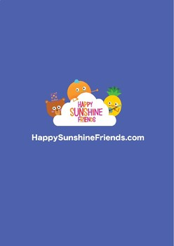 Happy Fruits - Kids song sing along