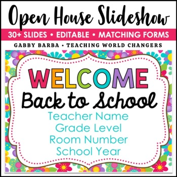 Hippie Floral Back to School PowerPoint