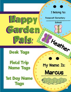 Happy Garden Pals: Tags!