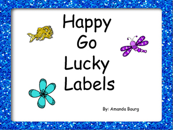 Happy Go Lucky Labels
