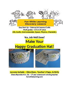Happy Graduation Any Day 3-D Hat.  Make Your Own