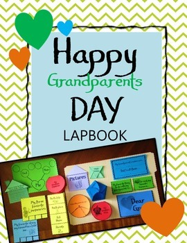 Happy Grandparent's Day Lapbook & Interactive Notebook