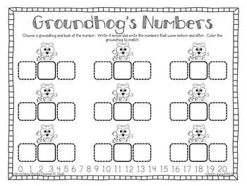 Happy Groundhog Day! A Literacy and Math Mini-Unit
