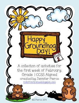 Happy Groundhog Day-A Mini Unit