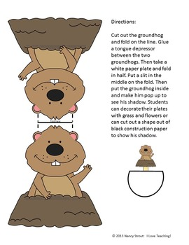 Groundhog Day: Activities for Grades K-2