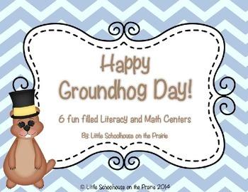 Happy Groundhog Day!  Centers