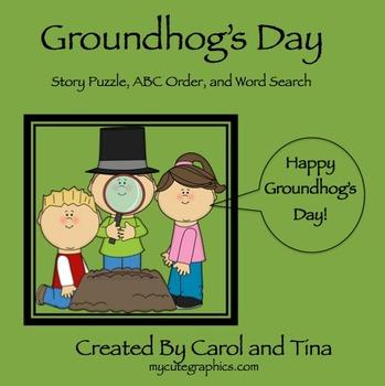 Groundhog's Day: Morning Work Activities
