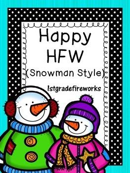 Happy HFW...SNOWMAN  STYLE!
