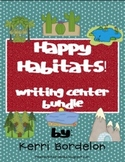 Happy Habitats! Writing Center Bundle