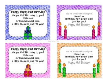 Happy Half Birthday Bundle
