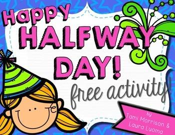 Happy Halfway Day! {activity FREEBIE!}