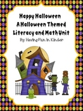 Halloween Happiness - Literacy and Math Unit