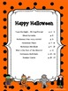 Happy Halloween: Activity Packet for Primary Grades (ELA a