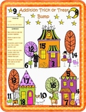 Happy Halloween!  Addition and Subtraction Bump Math Games