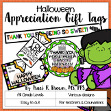 Happy Halloween Appreciation Gift Tags