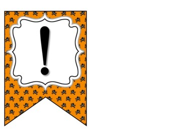 Happy Halloween Banner - Bulletin Board Banner