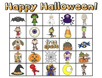 Happy Halloween Bingo!