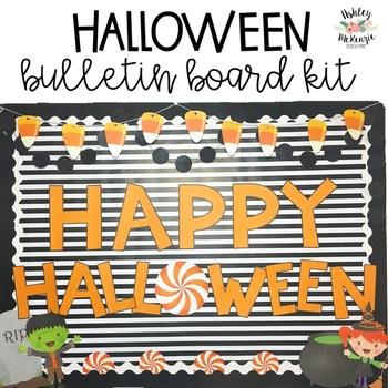 Happy Halloween Bulletin Board Kit