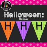 Happy Halloween Bunting Banner Pennant