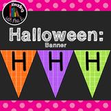 Happy Halloween Bunting Banner Pennant