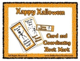 Happy Halloween Card and Bookmark - Skeleton Riddle - Grea