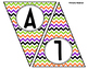 Happy Halloween Chevron Banner / Pennant