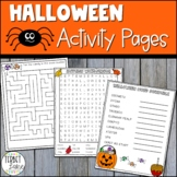 Happy Halloween Fun Pages