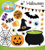 Halloween Clipart {Zip-A-Dee-Doo-Dah Designs}