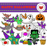 Happy Halloween Clipart ***Passionplus Clipart***