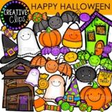 Happy Halloween Clipart {Creative Clips Clipart}