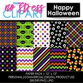 Happy Halloween Digital Papers