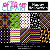Happy Halloween Digital Papers