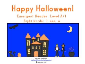 Happy Halloween! Emergent Reader